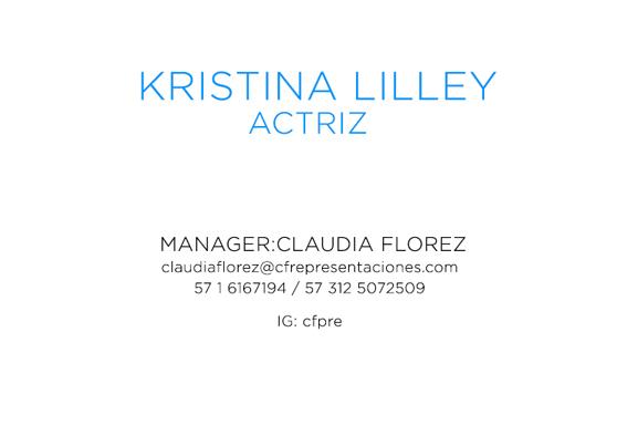 Todos los derechos reservados por Kristina Lilley y Carta de Color ...